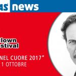 """Cesare Bocci è """"Il clown nel cuore 2017"""""""